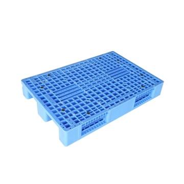 Moldeo por inyección de paletas de plástico con soporte inferior de tres corredores