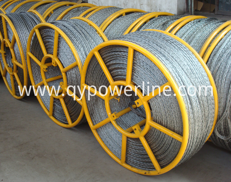 Galvanized Steel Anti Twist Braided Rope