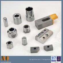 Douille de carbure de haute précision pour emboutir des composants de moule