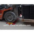 Bodenkabelabdeckung Außen PU Kunststoff 5 Kanäle Kabelabdeckung Boden
