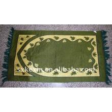 Alfombra de oración musulmana de 3 capas