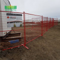 Outdoor temporary fencing  construction