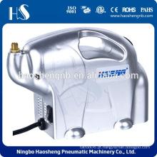 Compressor de ar AS16 Pro w / filtro, titular do aerógrafo duplo 5pcs Escova de limpeza Hobby Set