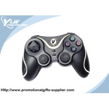 White Color 6 Axis Sensor / Vibration Functions Rubber Grip Wireless Ps3 Motion Controller