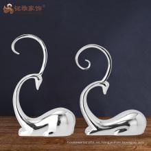 Escultura abstracta del reno de la resina de la decoración casera interior del hotel de los artes