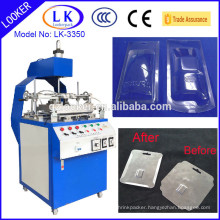 factory price new design automatic plastic film edge folding machine