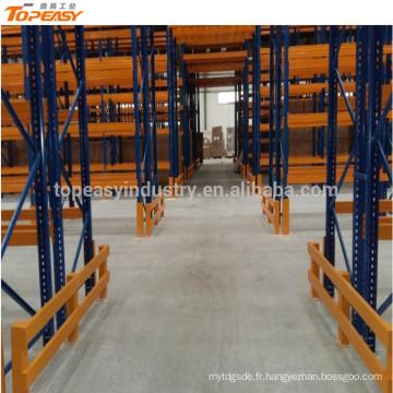 support de palette sélectif de stockage en métal résistant pour l'entrepôt