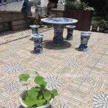 Azulejos del piso del patio Bluestone Guijarros Azulejos de la terraza del jardín