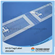 RFID Tag Impressão Etiqueta Tag Plástico