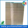 Hoja de espuma de gabinete de PVC para la construcción de viviendas (Densidad: 0.5 y 0.55g / cm3)