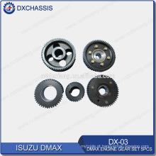 Genuine Dmax Engine Gear Set 5 Pcs DX-03
