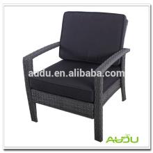 Cadeira de sala de estar Audu, sala de estar Cadeira de vime simples com alça