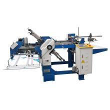 360-4+1 buckles paper folding machine with one knife