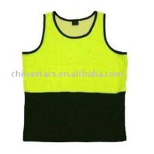 100%polyester reflective Sport Safety Vests