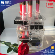 New Coming Spinning Lipstick Acrylic Tower