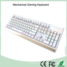 7 Multi-Color LED-Hintergrundbeleuchtung Backlit Mechanische Game Keyboard