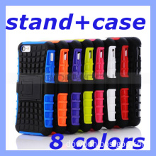 Mobile Phone Stand Case for iPhone 5 5s 5c iPad 4 iPad Mini Samsung Galaxy S4 S3 Note 3 Note 2 HTC LG