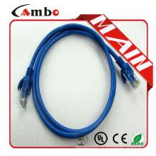Plenum Cat5e / Cat6 Ethernet RJ45-кабель 26awg многожильный Медный медный кабель Все цвета rj45
