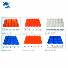 Glazed Tile Panel Cold Roll Forming Machine