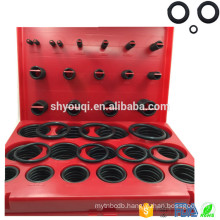 Good Hardness Rubber o ring seal NBR 382PCS/30 Sizes O rings Repair Set O-ring Case Flat oring Box