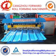 QJ-1010 Hoja de techo de aluminio que hace la máquina