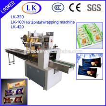 Máquina de embalagem horizontal do PLC do biscoito de soda