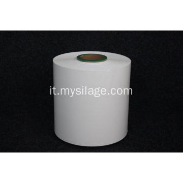 PE Silage Wrap Film High Tack Bianco