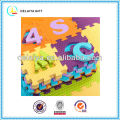 multifunctional EVA letters and numbers mat/toy for kids or baby