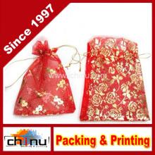 Embalaje de regalo de algodón / bolsa de lona (9117)