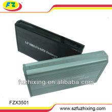 3.5 pulgadas USB 2.0 SATA HDD caso externo