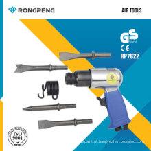 Martelo de Ar Rongpeng RP7622 com 4 formões de 175mm