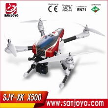¡Nueva llegada! Wltoys XK X500-A X500 aterrizaje de una sola llave GPS sin escobillas motor rc drone quadcopter con cámara 1080P XK X500