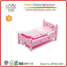 kids pretend play set toys lovely pink baby toy doll bed