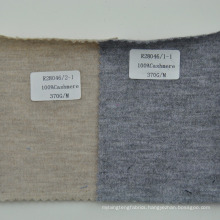 Three color available 100% pure cashmere knitted fabric