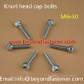 Knur Head Machine Screw Bolts