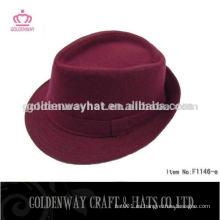 Sombrero de moda de las mujeres de Borgoña de la