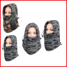 Tampão térmico da tampa da máscara da cara completa dos capuz do pescoço do esqui do inverno do Balaclava do velo de Camo