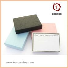 Elegante Kunst Papier Geschenk Verpackung Box für Schmuck
