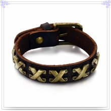 Leather Jewelry Leather Bracelet Handmade Jewelry (LB179)