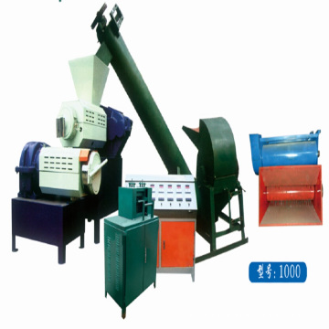 machine de granulation en plastique de granulateur moussant