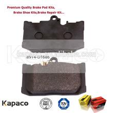 Kapaco Brand BRAKE PAD REVIEWS 8914-D1686 for MERCEDES-BENZ SL550 Sport 2013