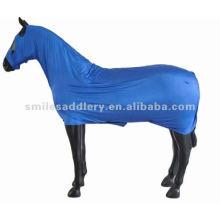 Royal Blue Elastic Lycra Body Suit for Horse