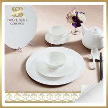 Wholesale restaurant vaisselle, hôtel et restaurant en porcelaine dîne ensembles fournitures