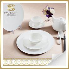 Atacado restaurante dinnerware, hotel e restaurante conjuntos de jantar de porcelana suprimentos