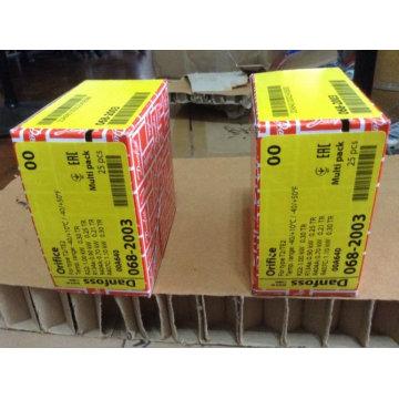 Válvulas de expansión termostáticas Danfoss No. 0 Orificio 068-2003