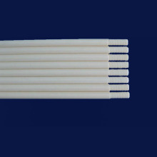 99% Purity Alumina Al2O3 Ceramic Thread Rod