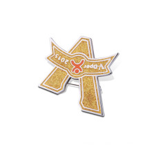 Insigne en souvenir souple en laiton et en émail doux (GZHY-FFL-003)