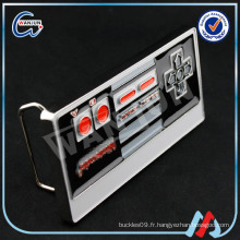 Metal Gamepad fantaisie ceinture boucle
