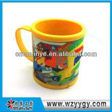 promotional 3D soft pvc mug cup