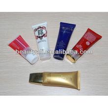 30ml-70ml facial limpiador tubo de embalaje acrílico tapa tubo cosmético